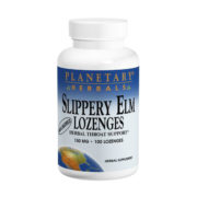 Slippery Elm Lozenges, Unflavoured, 150mg x 200Loz