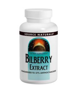 Bilberry Extract, 50mg x 30Tabs