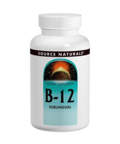 Vitamin B-12, Sublingual, 2000mcg x 100Tablets