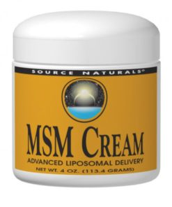 MSM Cream 4 oz (113.4g)